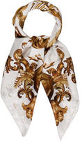 Givenchy Baroque Print Silk Scarf