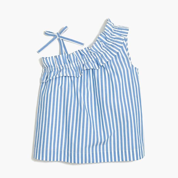 551860b6e9fd80 Girls One Shoulder Shirt - ShopStyle