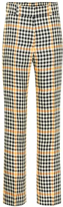 Petar Petrov Herrick checked linen pants