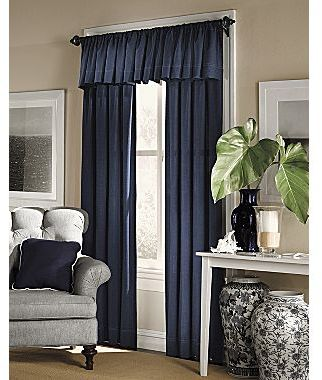 JCPenney American Living Brooklane Rod-Pocket Window Treatments