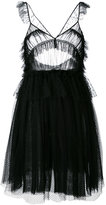 MSGM ruffled tulle mini dress - women - Polyamide - 40