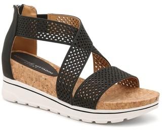 Adrienne Vittadini Cheery Wedge Sandal