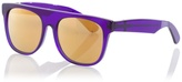 SUPER - Purple plastic sunglasses