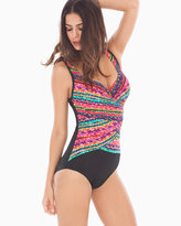 Soma Intimates Night Lights Layered Escape One Piece Swimsuit