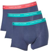 Tommy Hilfiger 3 Pack Contrast Waistband Trunk