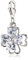 S'Oliver Cubic Zirconia Charm Silver 400305