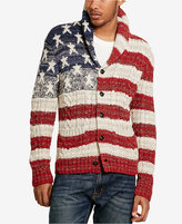 Denim & Supply Ralph Lauren Men's American Flag Cardigan