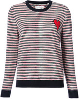 Chinti and Parker jacquard crewneck - women - Cashmere - XS