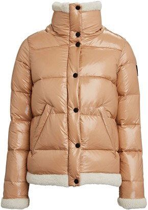SAM. Willa Shearling Trimmed Puffer Jacket