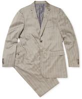 John Varvatos Hampton Wool Striped Suit