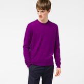 Paul Smith Men's Purple Cashmere Sweater