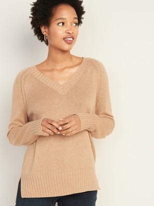 Old Navy Rib-Knit V-Neck Sweater for Women