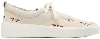 Fear Of God All Over Logo Print Sneakers