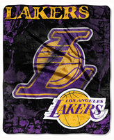 Northwest Company Los Angeles Lakers 50x60in Plush Throw Drop Down