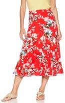 M&Co Floral print flippy skirt