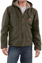 Carhartt Sandstone Sierra Jacket - Sherpa Lining, Factory Seconds (For Big Men)
