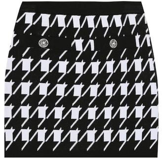 Balmain Kids Exclusive to Mytheresa stretch-knit skirt