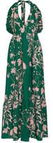 Borgo De Nor Violeta Floral-Print Cotton Gown