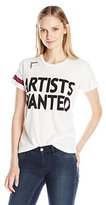 Freecity Women's Artists Wanted Invite Simple S/S T-Shirt