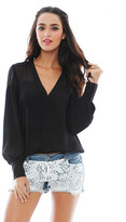 Elizabeth and James Reese Blouse in Black