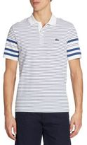 Lacoste Striped Cotton Polo