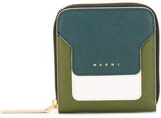 Marni squared zip-around wallet