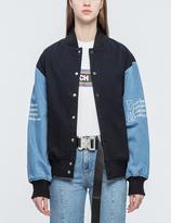 Joyrich Embroidered International Varsity Jacket