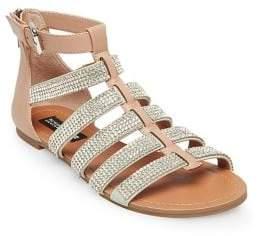 Design Lab Anise Rhinestone Embellished Sandals