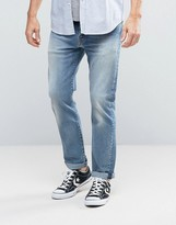 Levis 502 Regular Taper Jeans Macomb Light Wash