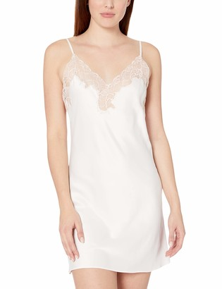 Natori Women's Solid Charmeuse Essential Chemise