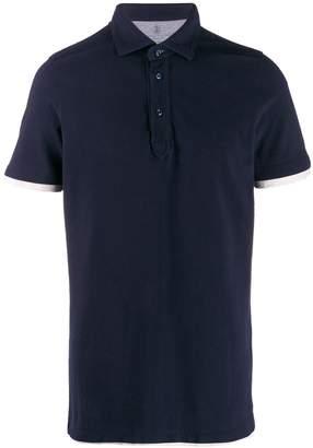 Brunello Cucinelli classic short-sleeve polo shirt