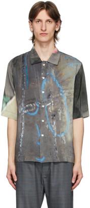 Serapis Multicolor Repair Marks Short Sleeve Shirt
