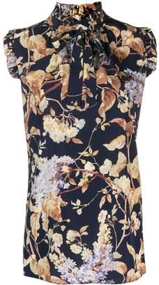 Zimmermann ruffled sleeveless blouse