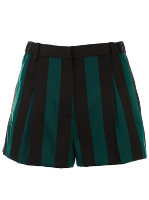 N°21 Black And Green Short