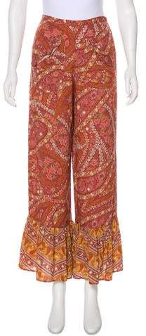 Spell & The Gypsy Collective Printed High-Rise Pants