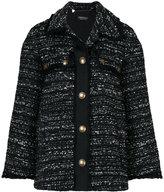Twin-Set long tweed jacket