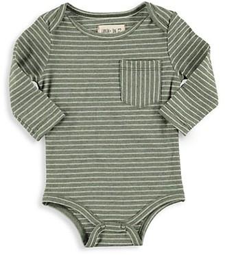 Me & Henry Baby Boy's Striped Jersey Bodysuit