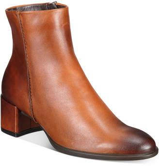 Ecco Women Shape 35 Block-Heel Boots Women Shoes