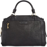 Fossil Logan Leather Satchel