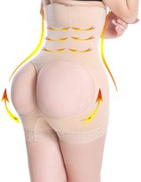 SAYFUT Women's High Waist Trainer Butt Lifter Tummy Control Boy Shorts Thigh Slimmer