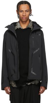 Descente Allterrain Black Streamline Hard Shell Jacket