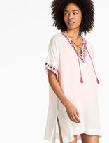 Lucky Brand Lace-up Caftan