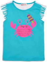 Design History Girls' Crab Top