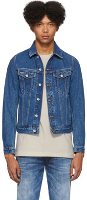 Diesel Blue Denim Galy-F Jacket