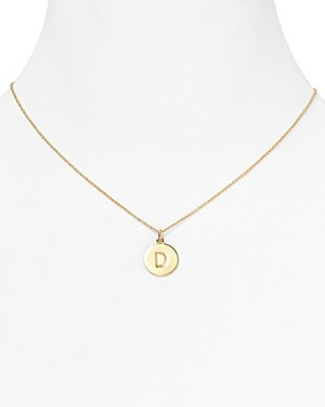 Kate Spade One in a Million Initial Pendant Necklace, 18