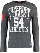 Superdry Trackster Long Sleeved Top Navy Grit