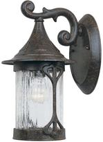 Mill Creek Designers Fountain Chestnut Outdoor Wall-Mount Lantern