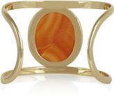 Isharya Gold-plated carnelian cuff