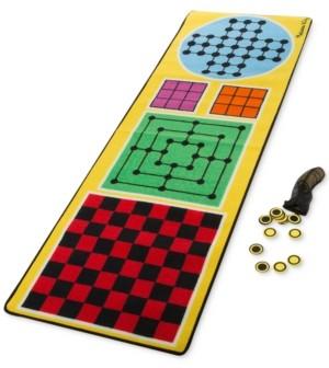 Melissa & Doug 4-in-1 Game Rug Playmat
