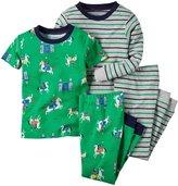 Carter's 4 Piece PJ Set (Toddler/Kid) - Knight-4